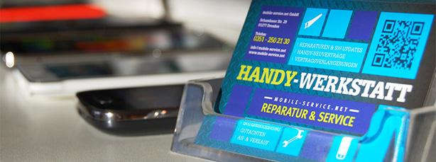 Die Handywerkstatt Dresden ist ihr Reparatur-Partner.